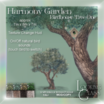 TLG - Harmony Garden Birdhouse Tree One Ad