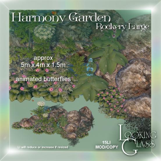 Harmony Garden Rockery Large Ad1