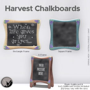 _PC_ Harvest Chalkboards