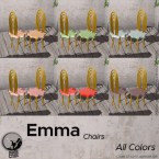 _pc_ emma chairs-all colors poster