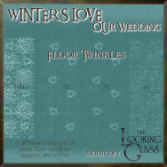 tlg - winter's love wedding floor twinkles