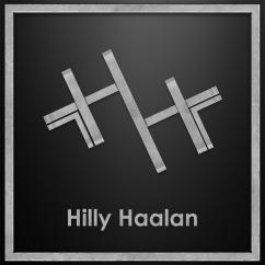 HILLY HAALAN LOGO 2018 SILVER