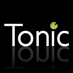 Tonic Logo (1x1 with reflection)