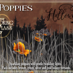TLG - Glam Poppies Halloween