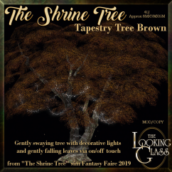 TLG - The Shrine Tree Tapestry Tree Brown AD