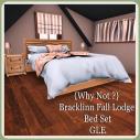 {Why Not _} Bracklinn Fall Lodge Bed GLE Ad